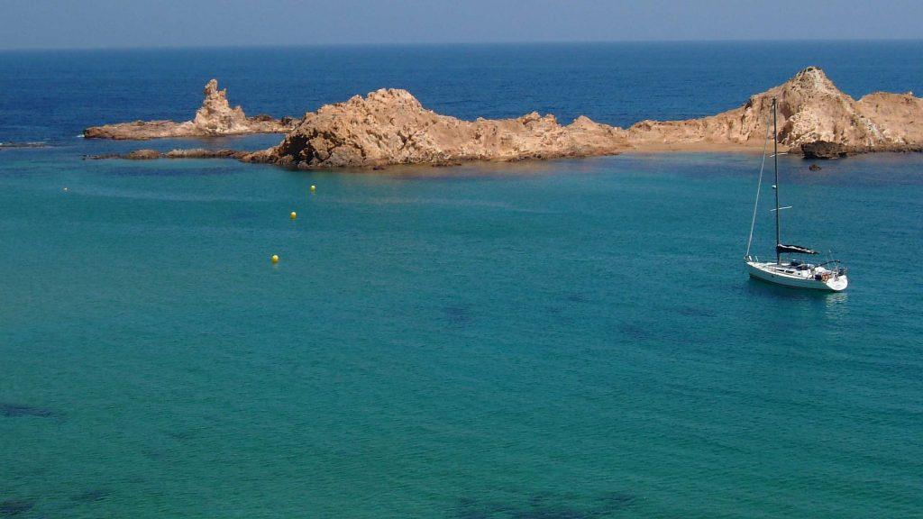 Alquiler velero Menorca