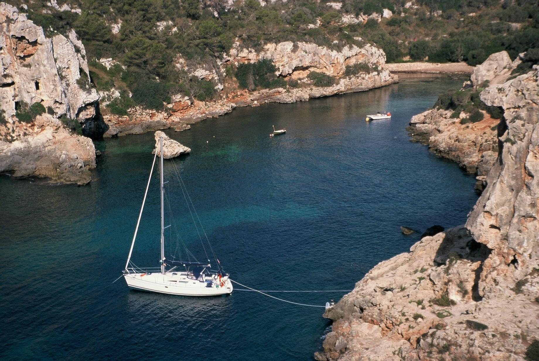 anchor in minorca