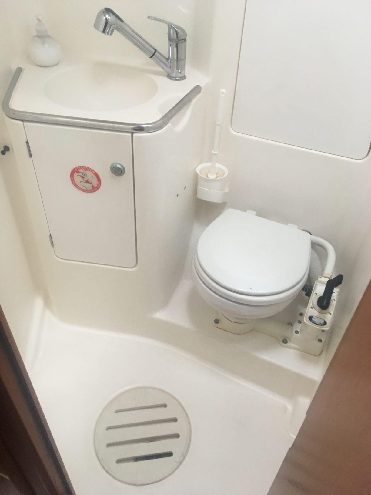 baño proa
