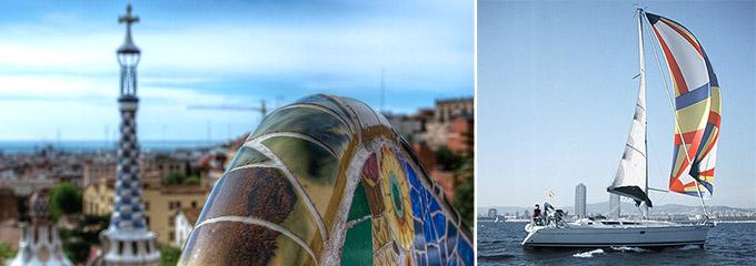 Barcelona en barco