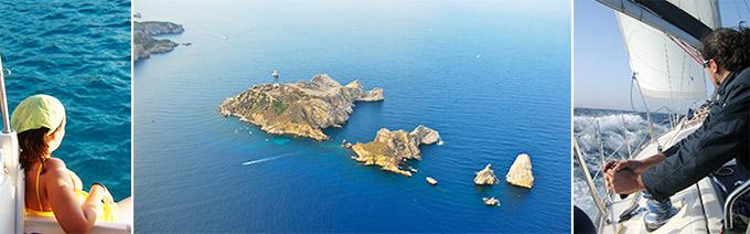 sailing catalan coast