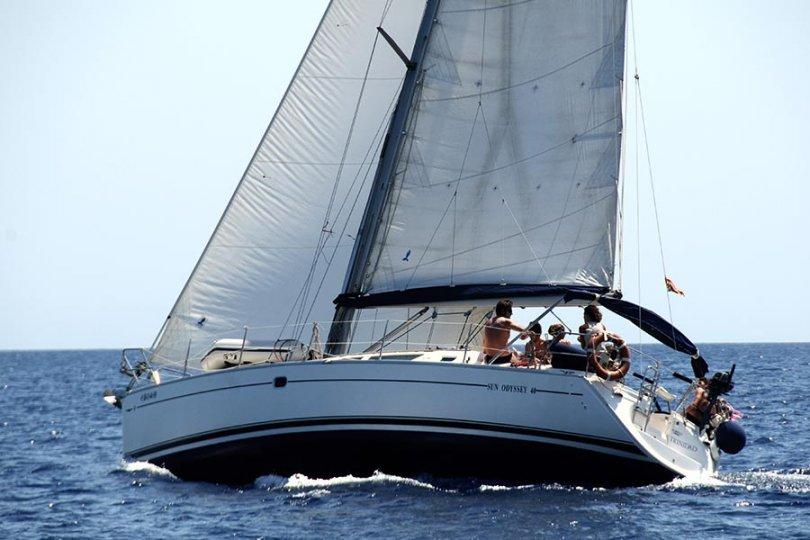 Navegando con el viento