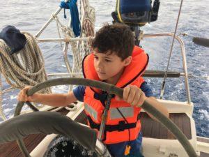 Navegar con niños