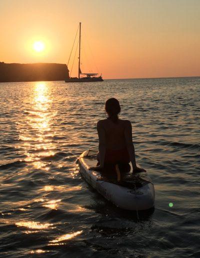 Padel surf desde el barco