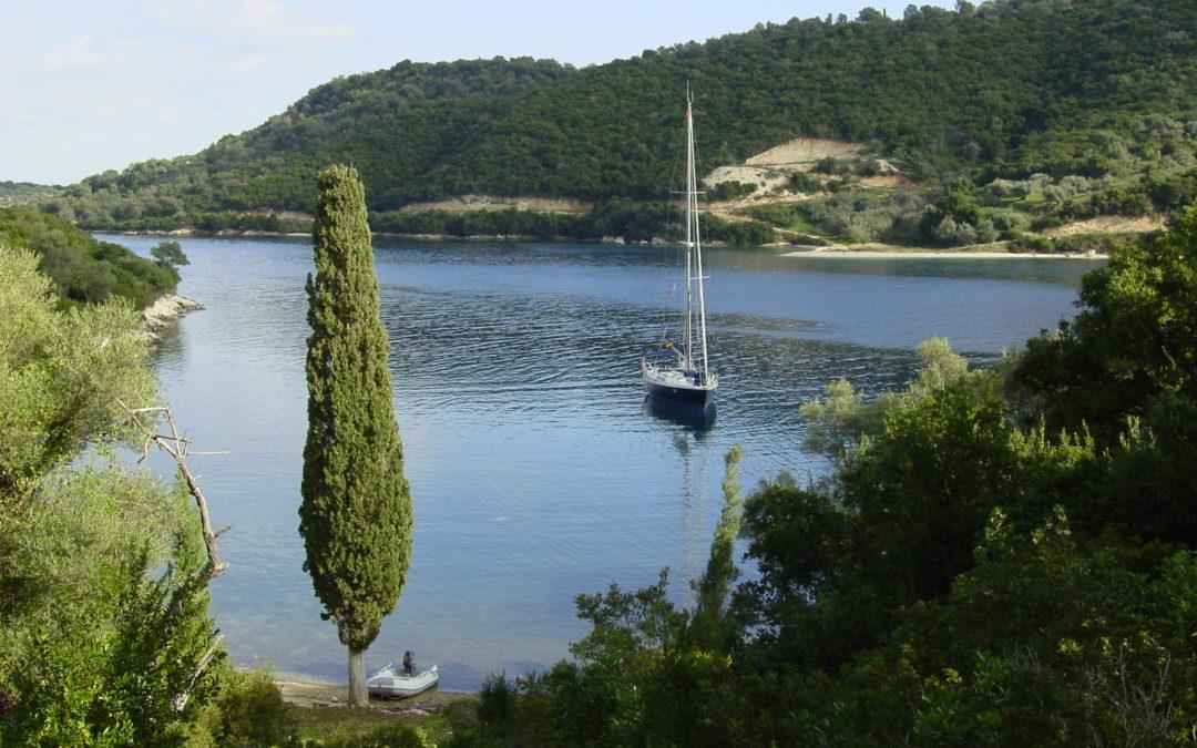 Viaje en barco a Grecia