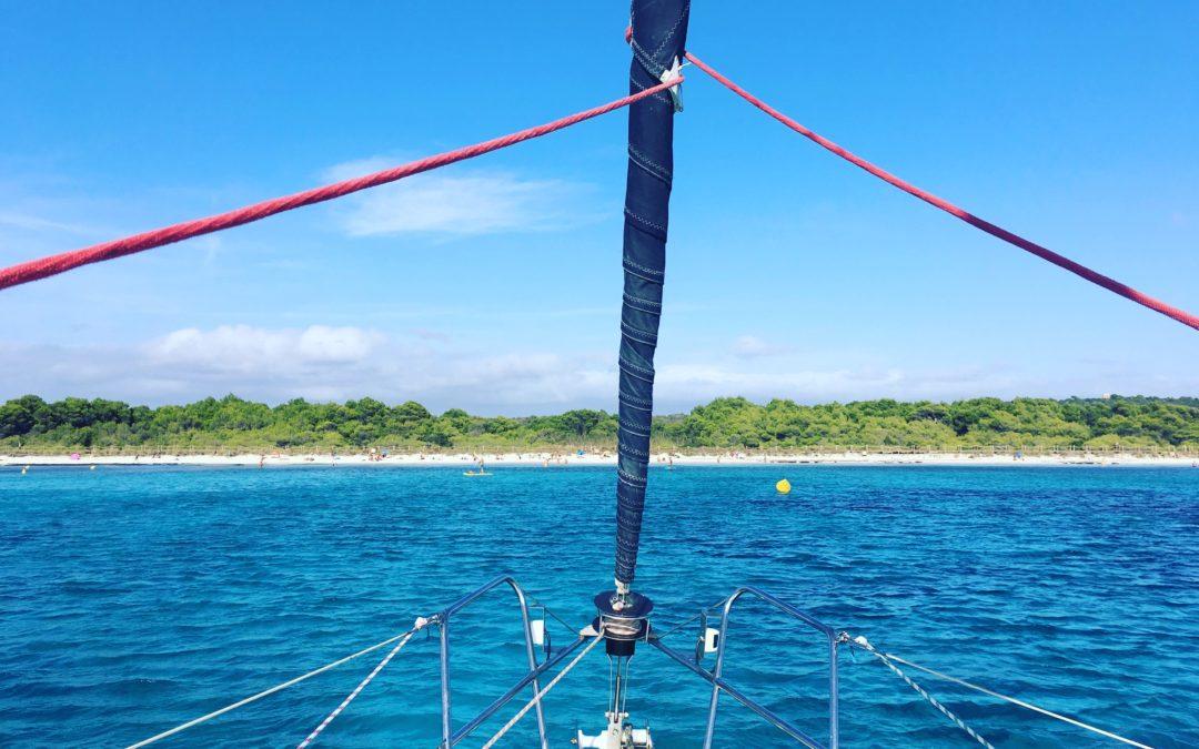 Alquiler velero en Menorca